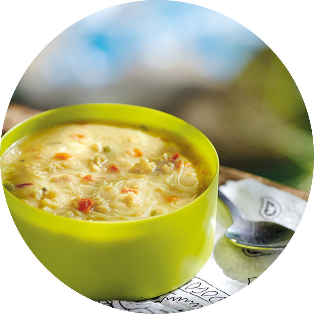 Happy Yak - Soupe thaï coco