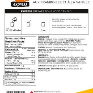 Granola Framboise Vanille
