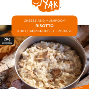 Freeze-dried, Cheese and mushroom Risotto