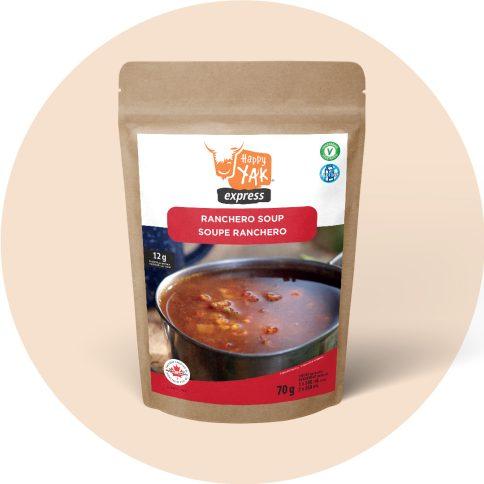 Happy Yak - soupe ranchero