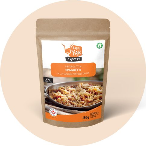 Happy YAk - Spaghetti à la sauce napolitaine