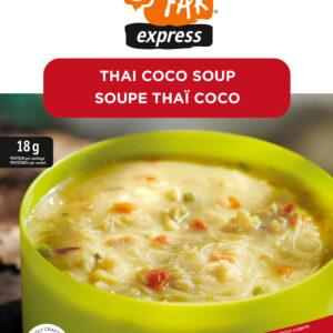 Soupe thai coco