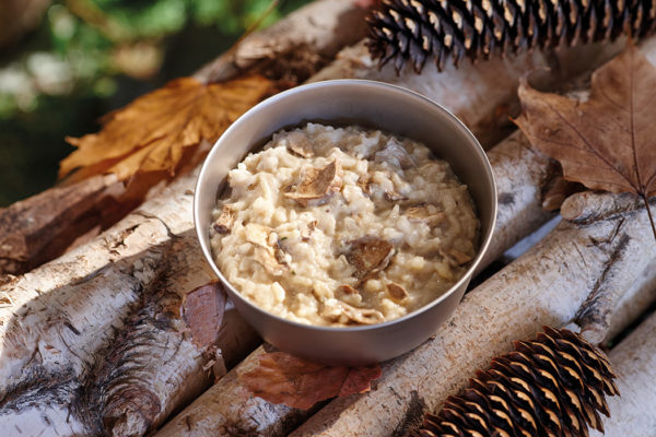 CHEESE AND MUSHROOM RISOTTO