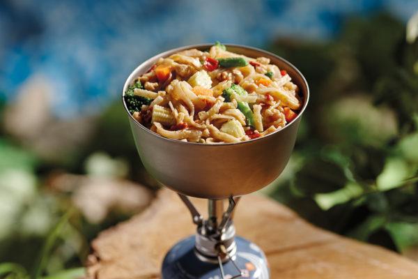 Freeze-dried, Pad Thai vegetable and peanut