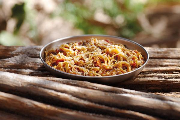 Spaghetti à la sauce Napolitaine