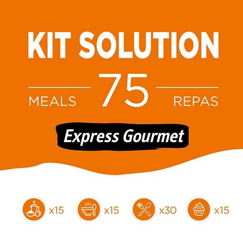 KIT SOLUTION EXPRESS GOURMET